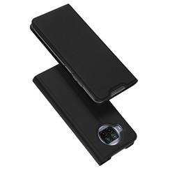 Dux Ducis - Case for  Xiaomi Mi 10T Lite - Ultra Slim PU Leather Flip Folio Case with Magnetic Closure - Black