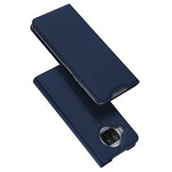 Dux Ducis - Case for  Xiaomi Mi 10T Lite - Ultra Slim PU Leather Flip Folio Case with Magnetic Closure - Blue