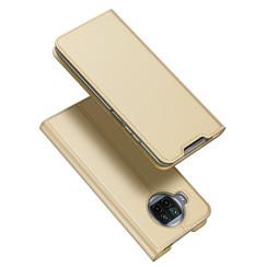 Dux Ducis - Case for  Xiaomi Mi 10T Lite - Ultra Slim PU Leather Flip Folio Case with Magnetic Closure - Gold