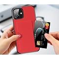 Dux Ducis Dux Ducis - iPhone 12 Mini hoesje - Pocard Series - Back Cover - Rood