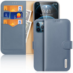 iPhone 12 / iPhone 12 Pro hoesje - Dux Ducis Hivo Series Case - Blauw