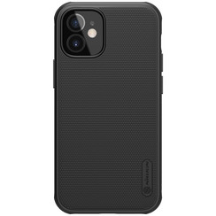 Nillkin - iPhone 12 Mini case - Super Frosted Shield Pro - Back Cover - Black