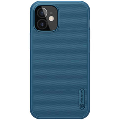 Nillkin - iPhone 12 Mini case - Super Frosted Shield Pro - Back Cover - Blue
