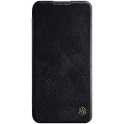 Huawei P40 Lite - Qin Leather Case - Black