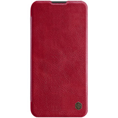 Huawei P40 Lite - Qin Leather Case - Rood