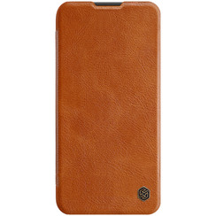 Huawei P40 Lite - Qin Leather Case - Brown
