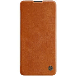 Huawei P40 - Qin Leather Case - Brown