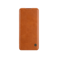 Huawei P40 Pro - Qin Leather Case - Brown
