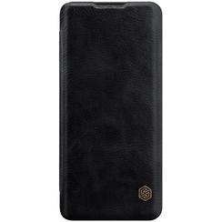 Huawei P40 Pro Plus - Qin Leather Case - Zwart