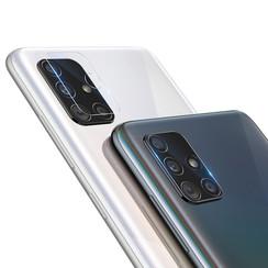 Nillkin - Samsung Galaxy A51 - Full Cover Camera lens screenprotector - Tempered Glass - Transparant (2-Pack)