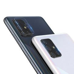 Nillkin - Samsung Galaxy A71 - Full Cover Camera lens screenprotector - Tempered Glass - Transparant (2-Pack)