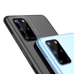 Nillkin - Samsung Galaxy S20 Plus - Full Cover Camera lens screenprotector - Tempered Glass - Transparant (2-Pack)