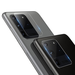Nillkin - Samsung Galaxy S20 Ultra - Full Cover Camera Lens screenprotector - Tempered Glass - Clear (2-Pack)