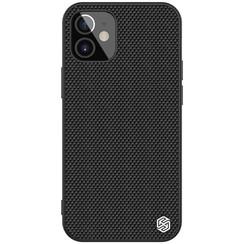 Nillkin - iPhone 12 Mini hoesje - Textured Case - Back Cover - Zwart