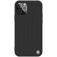 Nillkin - iPhone 12 / 12 Pro hoesje - Textured Case - Back Cover - Zwart