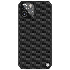 Nillkin - iPhone 12 Pro Max hoesje - Textured Case - Back Cover - Zwart