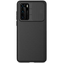 Nillkin - Huawei P40 hoesje - CamShield Case - Back Cover - Zwart