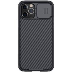 iPhone 12 / 12 Pro hoesje - CamShield Pro Case - Back Cover - Zwart