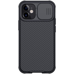 Nillkin - iPhone 12 Mini case - CamShield Pro Case - Back Cover - Black