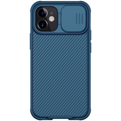 iPhone 12 / 12 Pro hoesje - CamShield Pro Case - Back Cover - Blauw