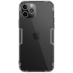 Nillkin - iPhone 12 / 12 Pro hoesje - Nature TPU Case - Back Cover - Grijs
