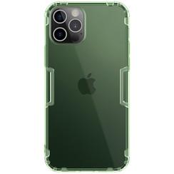 Nillkin - iPhone 12 / 12 Pro hoesje - Nature TPU Case - Back Cover - Donker Groen