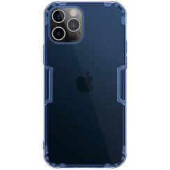 Nillkin - iPhone 12 / 12 Pro hoesje - Nature TPU Case - Back Cover - Donker Blauw