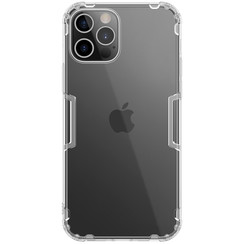 Nillkin - iPhone 12 / 12 Pro hoesje - Nature TPU Case - Back Cover - Transparant