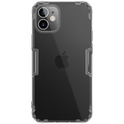 Nillkin - iPhone 12 Mini case - Nature TPU Case - Back Cover - Grey