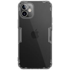 Nillkin - iPhone 12 Mini hoesje - Nature TPU Case - Back Cover - Grijs