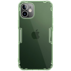 Nillkin - iPhone 12 Mini case - Nature TPU Case - Back Cover - Dark Green