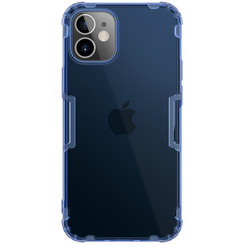 Nillkin - iPhone 12 Mini case - Nature TPU Case - Back Cover - Dark Blue