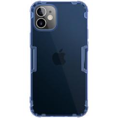 Nillkin - iPhone 12 Mini hoesje - Nature TPU Case - Back Cover - Donker Blauw