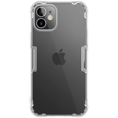 Nillkin - iPhone 12 Mini hoesje - Nature TPU Case - Back Cover - Transparant