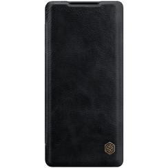 Huawei Mate 40 Pro Plus - Qin Leather Case - Zwart