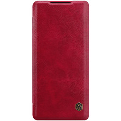 Huawei Mate 40 Pro Plus - Qin Leather Case - Rood