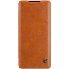 Huawei Mate 40 Pro Plus - Qin Leather Case - Bruin