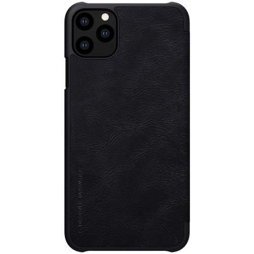 Nillkin Apple iPhone 11 Pro Max - Qin Leather Case - Zwart