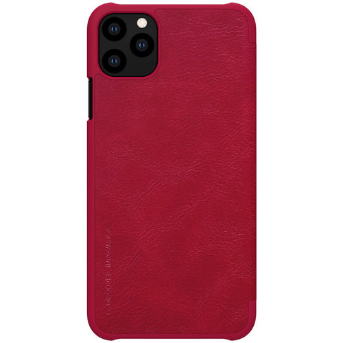 Nillkin Apple iPhone 11 Pro Max - Qin Leather Case - Rood