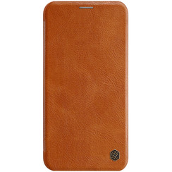 Apple iPhone 11 Pro Max - Qin Leather Case - Bruin