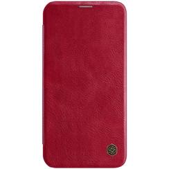 Apple iPhone 12 Mini - Qin Leather Case - Rood