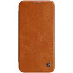 Apple iPhone 12 Mini - Qin Leather Case - Brown