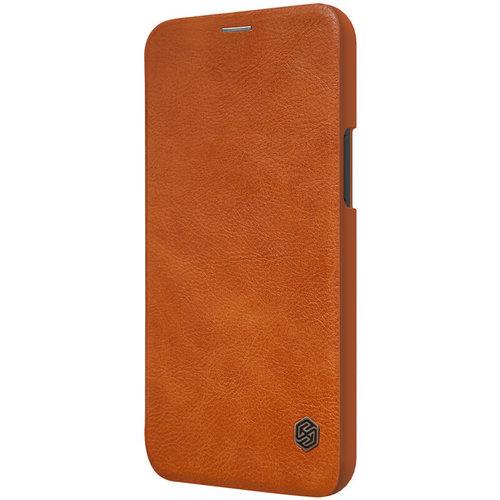 Nillkin Apple iPhone 12 Mini - Qin Leather Case - Bruin