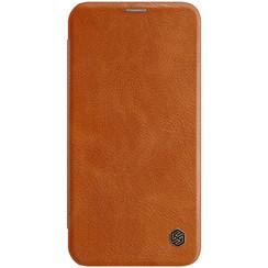 Apple iPhone 12 / 12 Pro - Qin Leather Case - Bruin