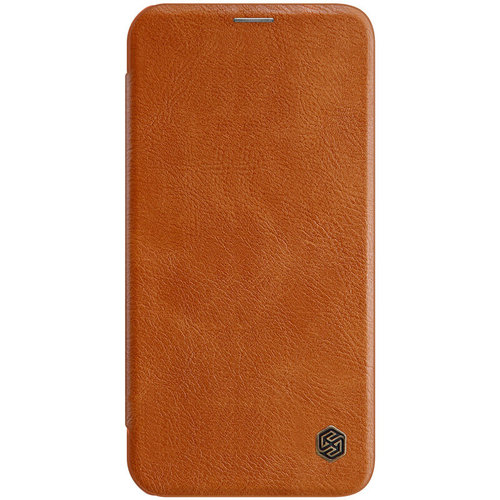 Nillkin Apple iPhone 12 Pro Max - Qin Leather Case - Bruin