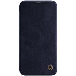 Apple iPhone 12 Pro Max - Qin Leather Case - Blauw