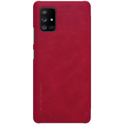 Samsung Galaxy A71 5G - Qin Leather Case - Rood