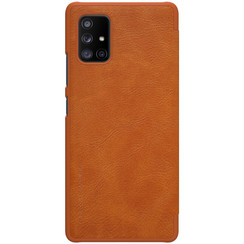 Samsung Galaxy A71 5G - Qin Leather Case - Bruin