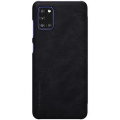 Samsung Galaxy A31 - Qin Leather Case - Zwart