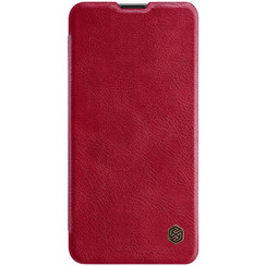 Samsung Galaxy A10s - Qin Leather Case - Rood